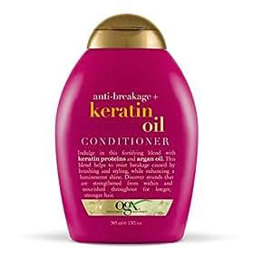 Organix Keratin Oil Conditioner, 13-Ounce