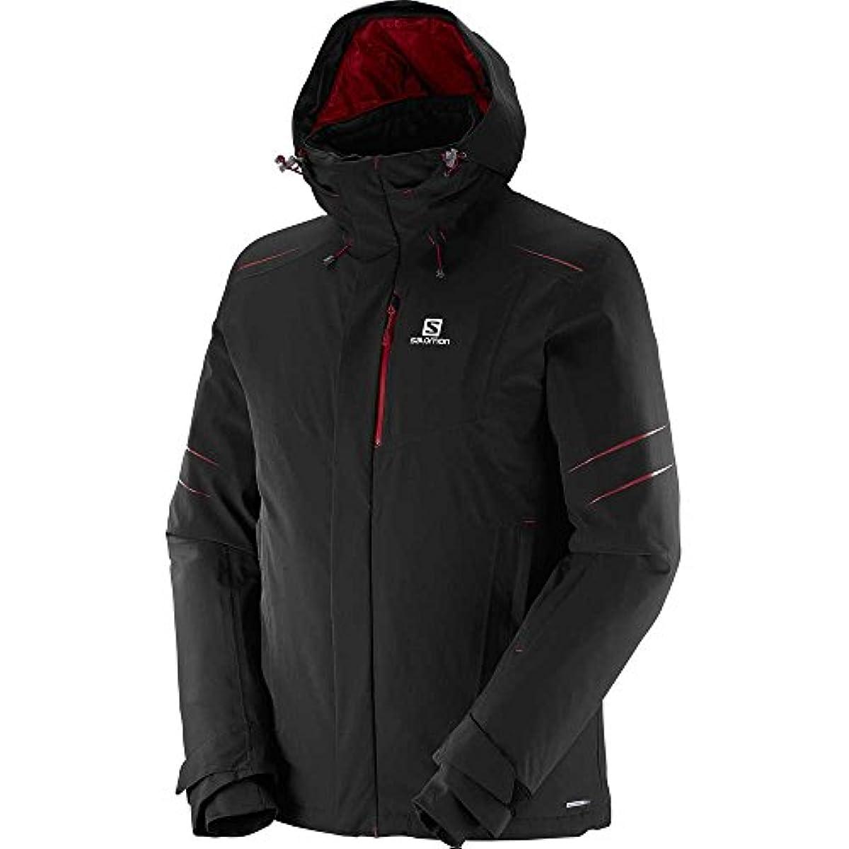 [해외] 살로몬SALOMON 스키 재킷 아이스 스톰 ICESTORM 맨즈 L38298800 블랙