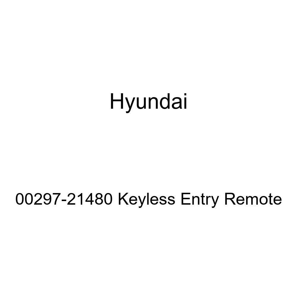 Genuine Hyundai 00297-21480 Keyless Entry Remote