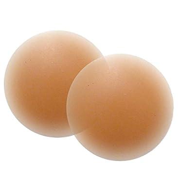 Nippies Skin Reusable Thin Silicone Nipple Cover Pasties ADHESIVE- CARAMEL
