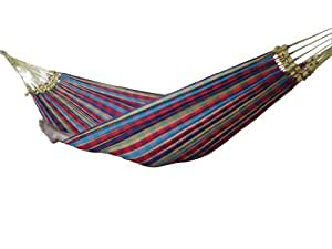 Vivere BRAZ123 Brazilian Style Single Hammock Color: Paradise Size: Single