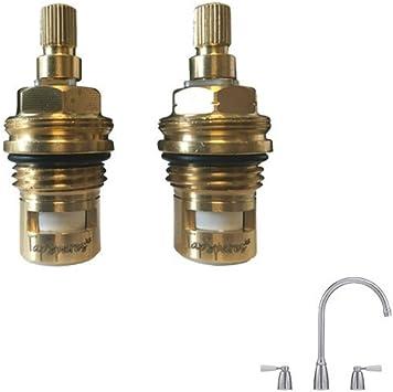 1 x atribuidos de repuesto para agua caliente y fría válvulas para Franke grifos para Moritz