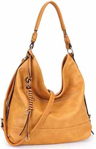 d0ae5519e4e8a Shopping Yellows or Ivory - Faux Leather - Hobo Bags - Handbags ...