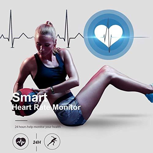 Pro-Fit Active VeryFitPro Fitness Tracker IP67 Waterproof Activity Tracker Heart Rate Sleep Monitor (Dark Blue) 2