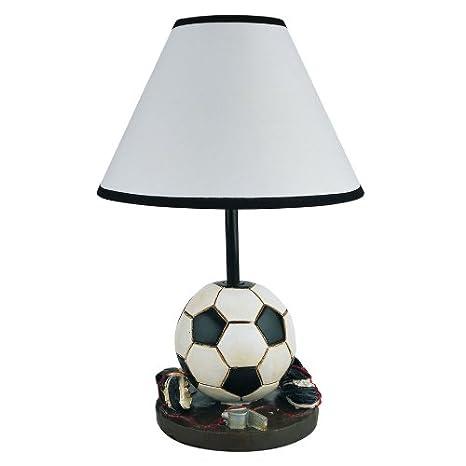 Genial Soccer Table Lamp Girls Boys Kids Room Decorative Light 604BC