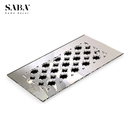 Plastic Side Wall Register (SABA Air Vent Cover Grille - Acrylic Fiberglass 12