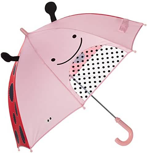 Skip Hop Zoo Little Kid and Toddler Umbrella, Multi Livie Ladybug