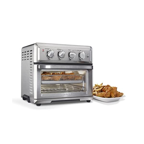 Cuisinart TOA-60 Convection Toaster Oven Airfryer, Silver 2