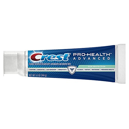 Crest Pro-Health Advanced Gum Protection Toothpaste, 5.1 oz, Triple pack by Crest (Image #1)