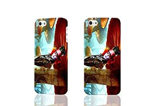 TYH - Mad Hatter Alice in Wonderlan D Rough Case Skin, fashion design image custom , durable hard D case cover for ipod Touch4 , Case New Design By Codystore ending phone case