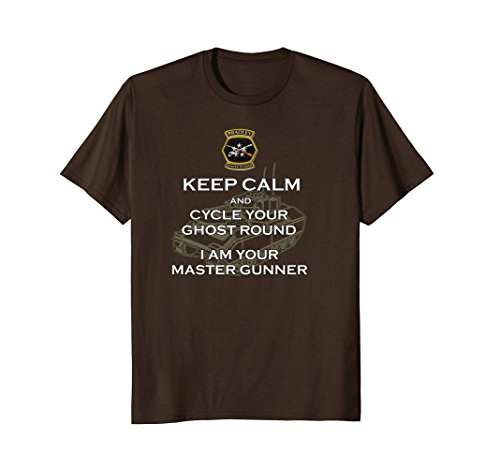 Mens InfantryProud Bradley Master Gunner Keep Calm t-shirt Large (Fighting Masters)