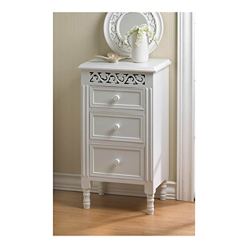 Koehler Home Décor White Ivy Side Table