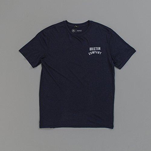 Brixton Herren T-Shirt blau blau