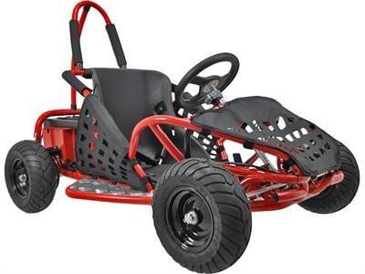 MotoTec MT-GK-01 Red Off Road Go Kart - 48V