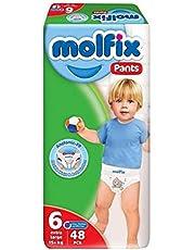 حفاضات كلوت للاطفال Extra Large من موفليكس – 48 قطعة، مقاس 6، 2725616043415