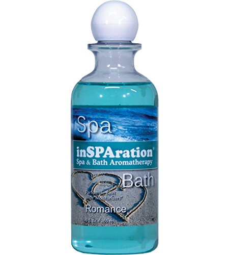 inSPAration Spa and Bath Aromatherapy 106X Spa Liquid, 9-Ounce, Romance