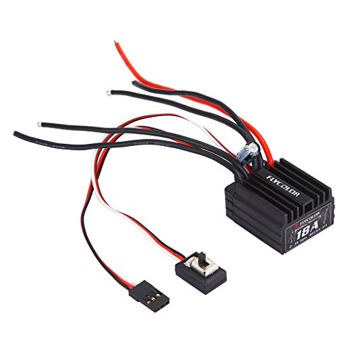 ss ESC Electronic Speed Controller for 1/18 1/16 RC Car Accessories ()