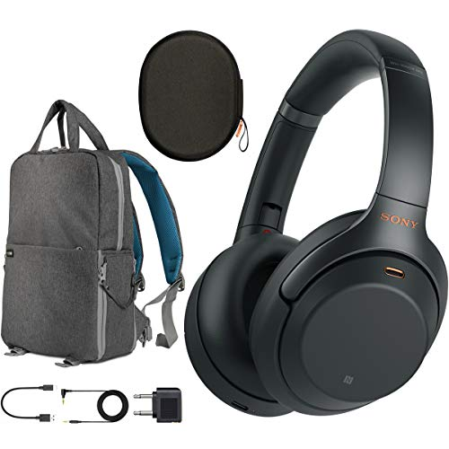 Sony WH1000XM3 Premium Noise Cancelling Wireless Bluetooth Headphones with Built in Microphone...