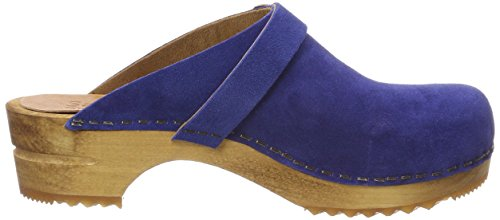 Sanita Clog Geopend Hedi Damen Blue (elektrisch Blauw)