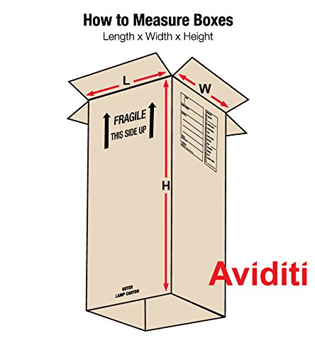 Aviditi OUTERLAMP Outer Lamp Box, 12-5/16'' Length x 12-5/16'' Width x 40'' Height, Kraft (Pack of 15)