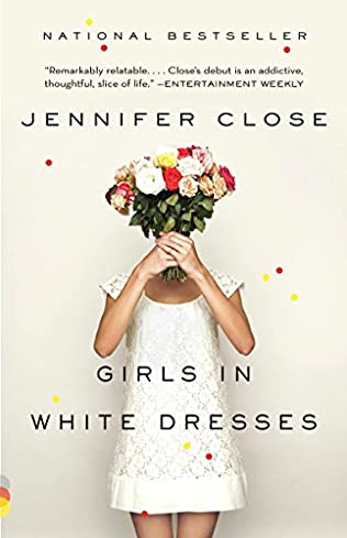 book cover of Girls in White Dresses