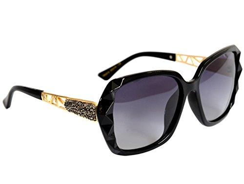 Rectangle Metal Sunglasses - 7