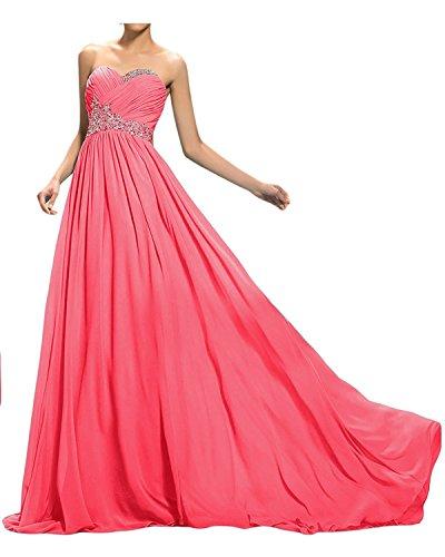 Lang Kleider Jugendweihe Mit Elegant mia Perlen Ballkleider Gruen Pailletten La Wassermelon Braut Abschlussballkleider Abendkleider IzwFxqT