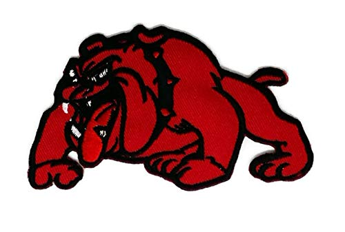 3.75 inches x 2.1 inches Red Bulldog Novelty