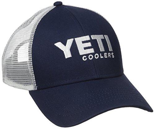 YETI 21010060001 Navy Trucker Hat Cooler, (Yeti Hat)