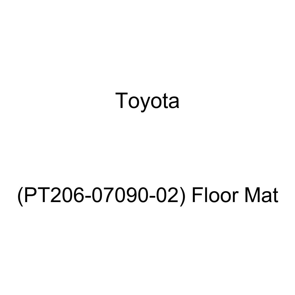 Floor Mat Genuine Toyota PT206-07090-02