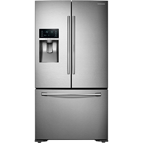 Samsung RF23HTEDBSR 23 Cu. Ft. Capacity ENERGY STAR French Door Refrigerator in Stainless Steel