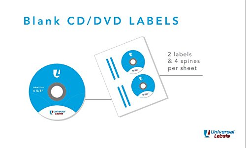 200 Cd Dvd Label - 200 CD / DVD labels. Use the Avery® 5931 template to create. These are white, matte and can be used in both laser and inkjet printers. Great value for 50 sheets.