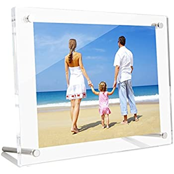 Amazon.com - Acrylic Photo Frame 4x6 Gift Box Package, Clear Free ...