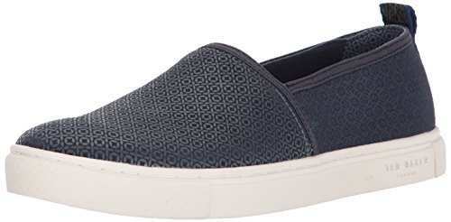 Ted Baker Mens Zhangg Citato Am Loafer Blu Scuro / Multi