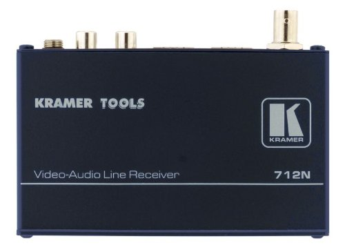 Kramer Electronics 712N Composite Video and Stereo Audio Over Twisted Pair Receiver by Kramer
