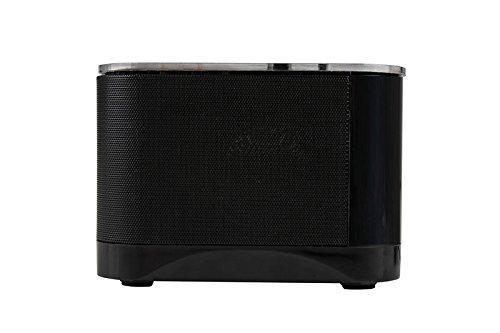 Digital doble alarma FM reloj con Radio Bluetooth 4.0 ...