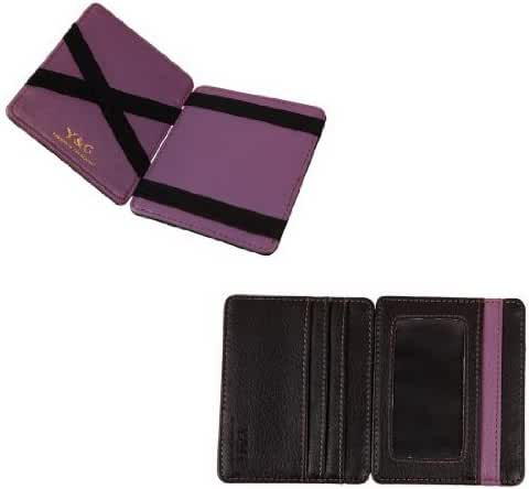 YCM0201 Mens Magic Wallet Credit 5 Id Case Holder 10 Color Available By Y&G