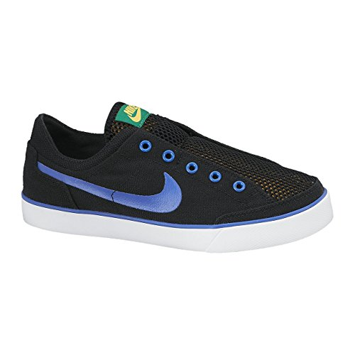 Nike - Capri Slip Txt GS - 644556002 - Color: Azul-Gris-Negro - Size: 38.5