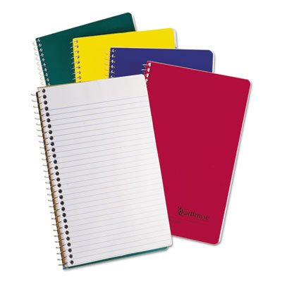 Small Size Notebook, College Rule, 6 x 9-1/2, White, 150 Sheets, Sold as 1 Each