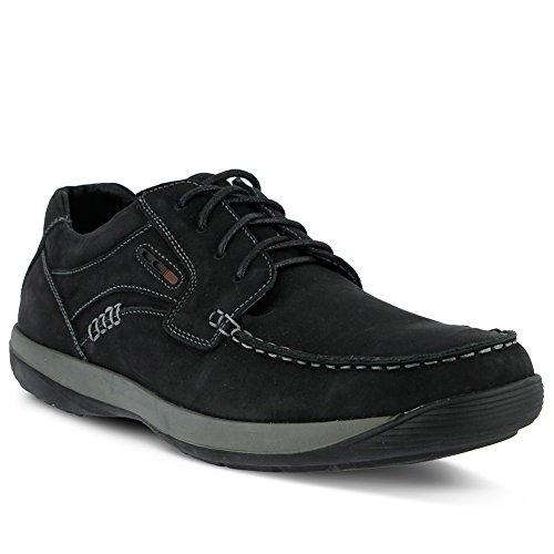 Lente Stap Heren Heren Duncan Nautische Schoen Zwart