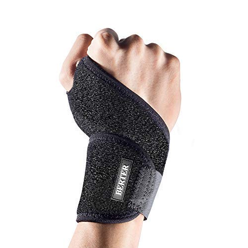 BERTER Wrist Brace Tendonitis Wrist-Thumb Carpal Tunnel Support for Men Women Gym Yoga Weight Lifting Fits for Left Right Hand