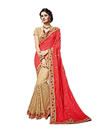 a49f060e7547ef Rehsha Women Designer Chiffon & Net Heavy Mirror Work Saree Pakistani  Wedding Indian Sari: Amazon.co.uk: Clothing
