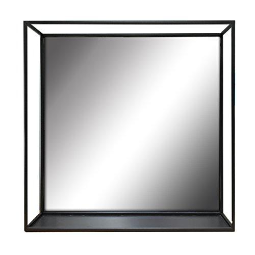 Elsa L 47145 Metal Wire Decorative Wall Mirror Shelf 18