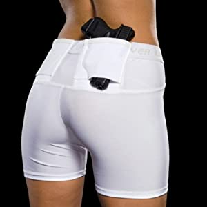 1. Women's Concealment Shorts by UnderTech Undercover