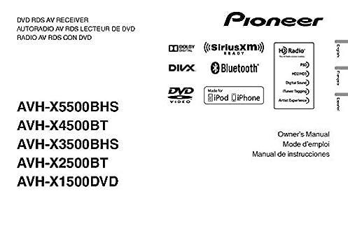 pioneer avh x4500bt wiring diagram wiring diagram description Pioneer AVH P3400BH Wiring-Diagram pioneer avh x4500bt av receiver owners instruction manual reprint pioneer dvd receiver avh x4500bt pioneer avh x4500bt wiring diagram
