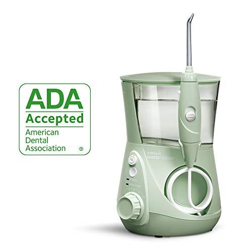 Waterpik Water Flosser Electric Dental Countertop Professional Oral Irrigator For Teeth, Aquarius, WP-668 Mint Green from Waterpik