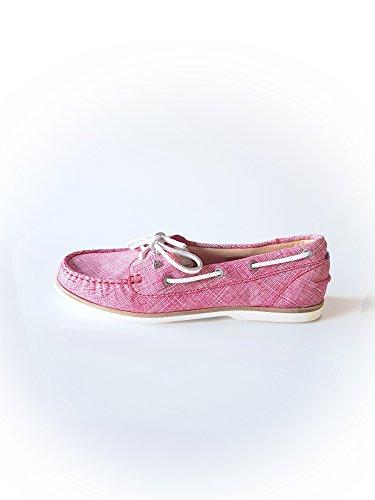 GAASTRA Damen Sneaker aus Kunstleder in Rot Größe 37