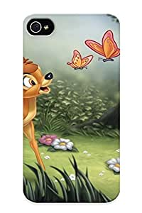 Podiumjiwrp Premium Protective Hard Case For Iphone 4/4s- Nice Design - Bambi
