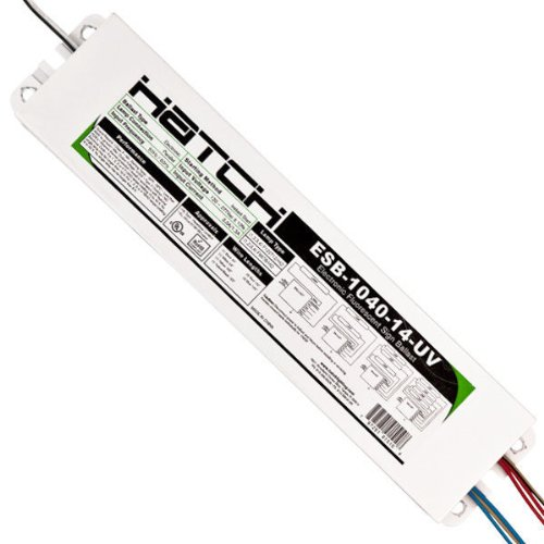 - Hatch ESB-1040-14-UV - Electronic Sign Ballast - (1-4 Lamps) - T12/HO - 120/277 Volt