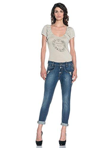 Fornarina Damen Boyfriend Jeans Denim 8jVAOzLIB4